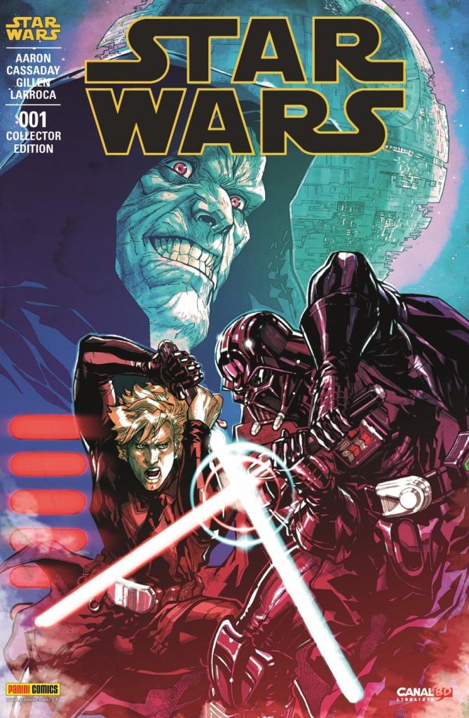 Star Wars #1 by Carlos D'Anda