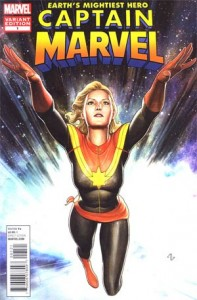 Captain Marvel #1 Adi Granov Variant