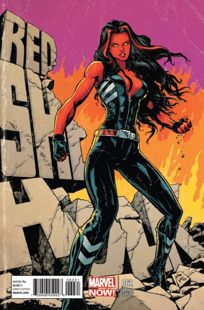 Red She-Hulk #62 Steve Lightle Variant