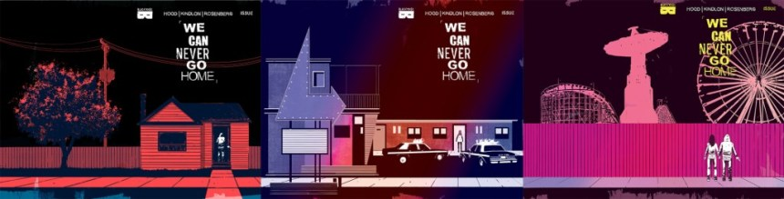 We Can Never Go Home #1-3 Connecting covers