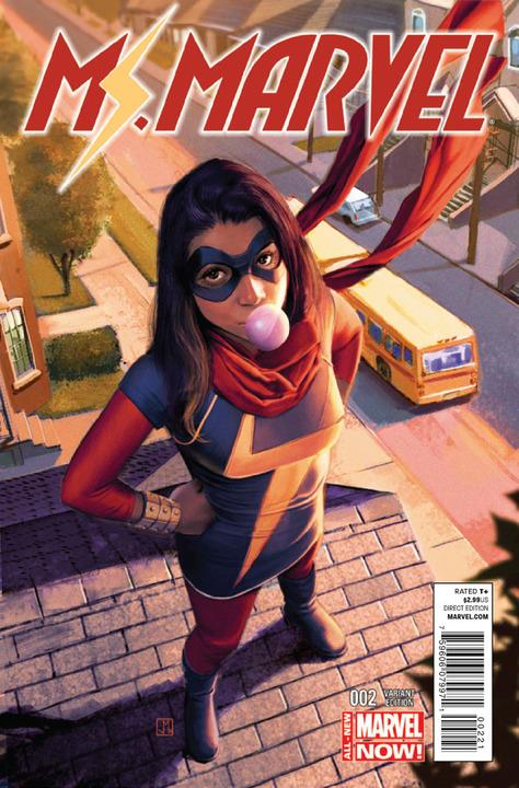 Ms Marvel #2 Molina Variant