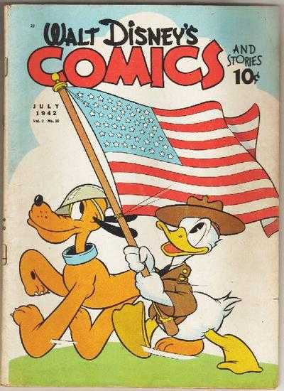 WALT DISNEY COMICS AND STORIES #22