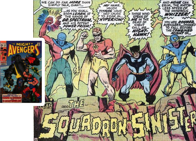 Avengers 69: Introducing Squadron Sinister