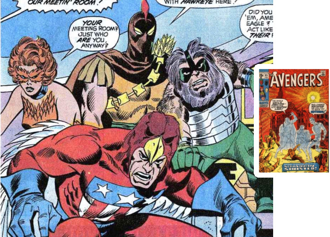 Avengers 85: Introducing the Squadron Supreme