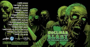 Walking Dead/Nuclear Blast 2015 Summer Sampler