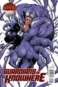 Guardians of Knowhere #3 Venom Manga Variant