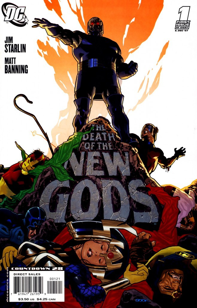 Death of the New Gods #1 Ryan Sook Variant
