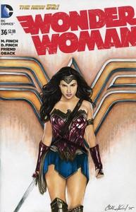 Gadot as Wonder Woman