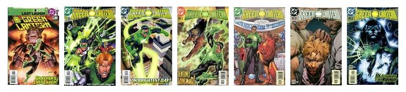 Green Lantern covers by Jim Lee