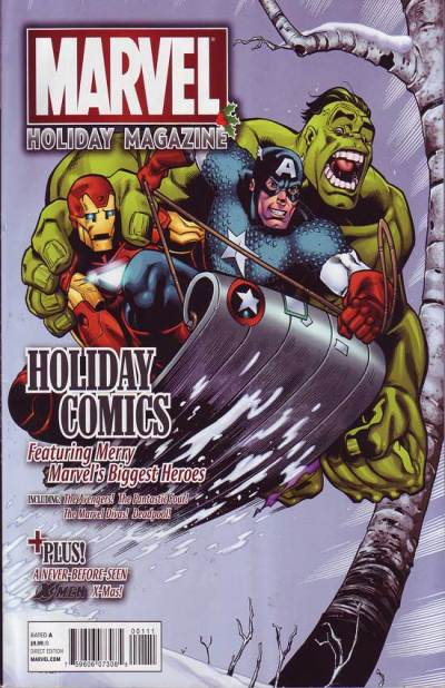 Marvel Holiday Magazine