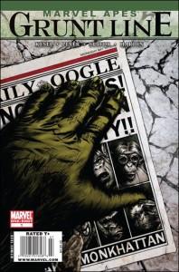 Marvel Apes: Grunt Line