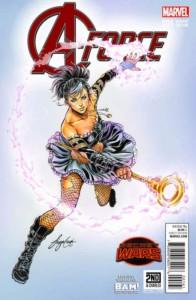A-Force #1 Siya Oum Variant