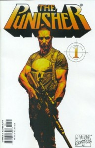 Punisher #1 White Variant