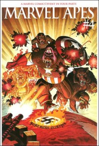 Marvel Apes #4 Arthur Adams Variant