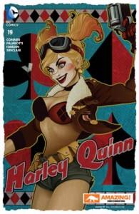 Harley Quinn #19 Amazing Con Bombshell Variant