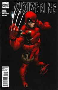 Wolverine #1 (Deadpool RI)