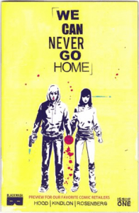 We Can Never Go Home #1 Retailer Preview Variant