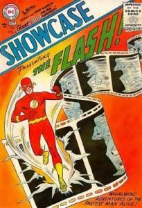 Showcase 4 1st SA App Flash Barry Allen 1st App Iris West 1st App The Turtle