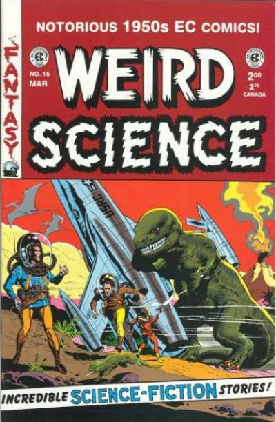 Weird Science #15 by Wally Wood