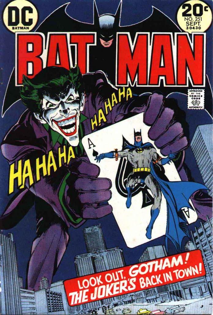 Batman #251 by Neal Adams