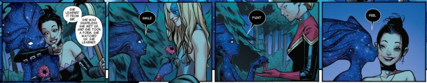Panels from A-Force #4