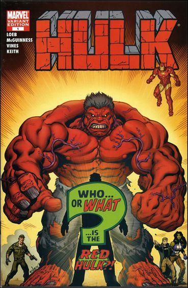 Hulk #1 Ed McGuinness Variant