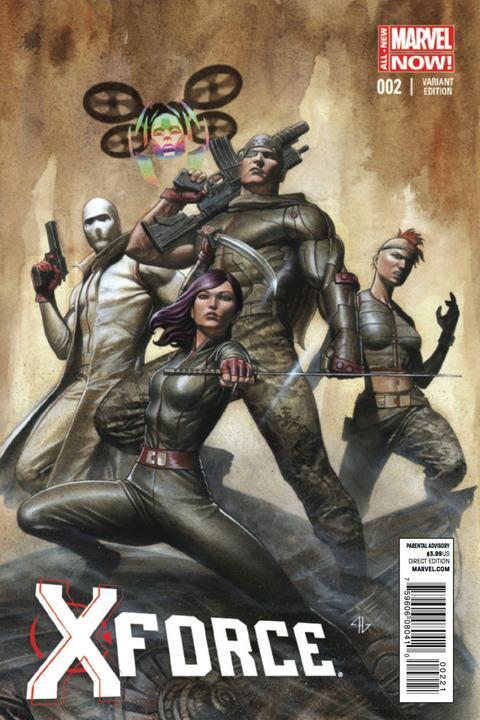 X-Force #2 Adi Granov 1:50 Variant