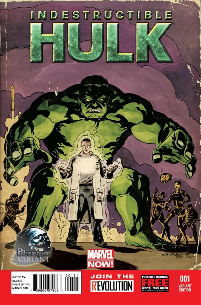 Indestructible Hulk #1 Phantom Variant