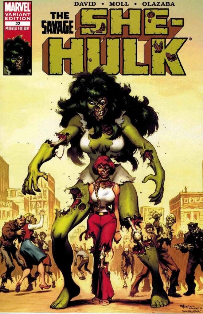 Savage She-Hulk #22 Ed McGuinness Zombie Variant