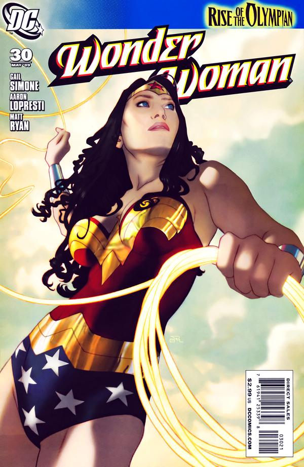 Wonder Woman #30 Middleton Variant