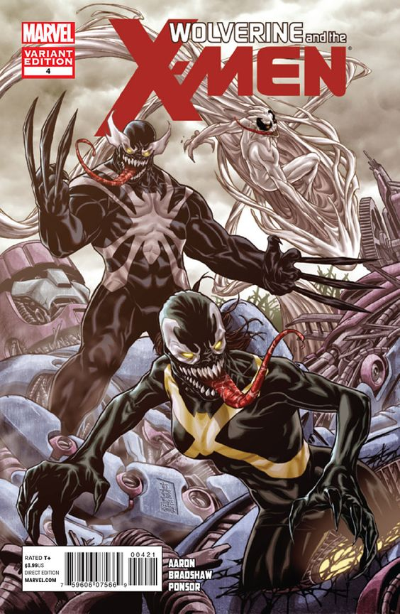 Wolverine and the X-men #4 Venom Variant