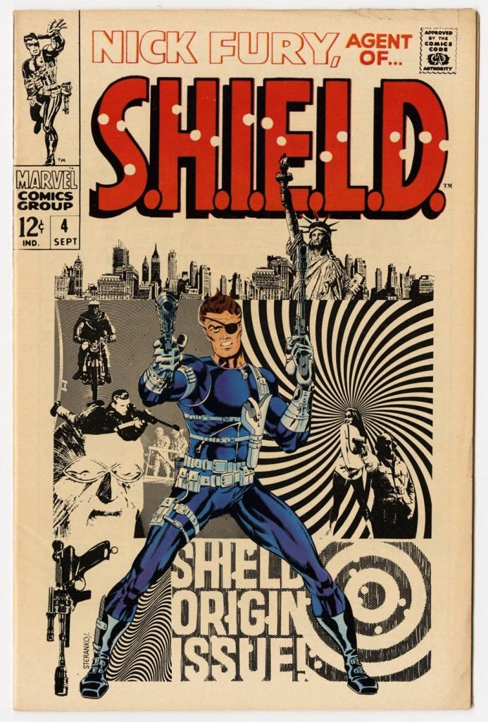 Nick Fury, Agent of SHIELD #1