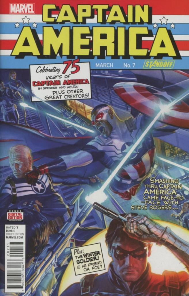 Sam Wilson: Captain America #7 Regular Cover