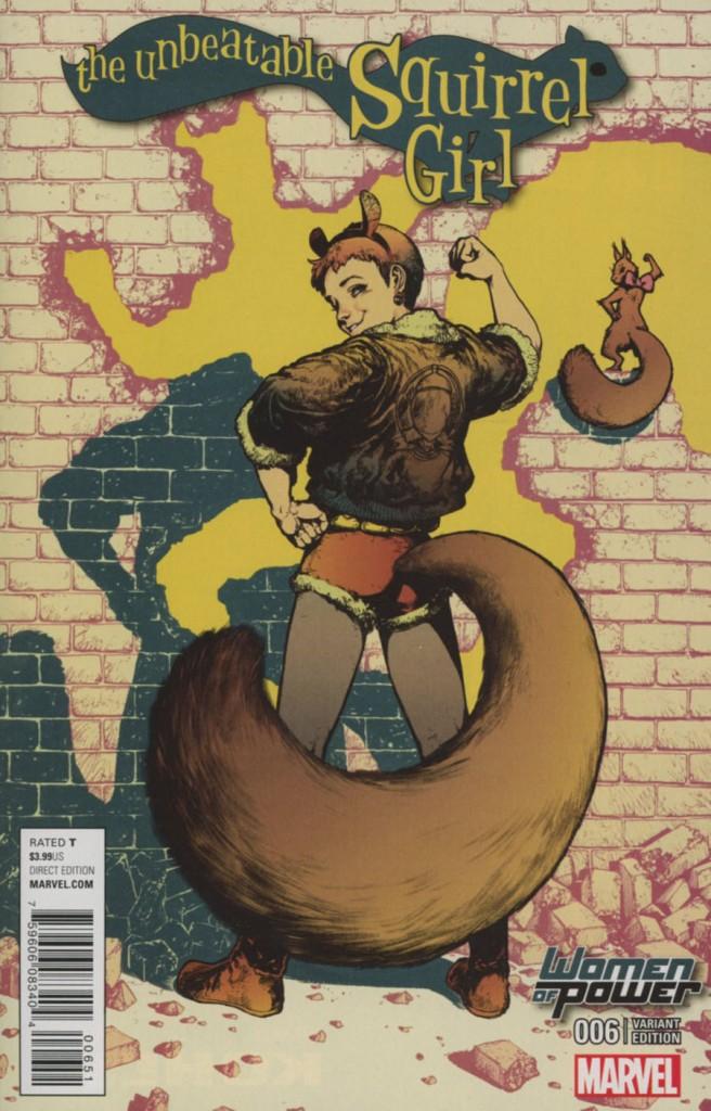 Unbeatable Squirrel Girl #6 Women of Power Variant