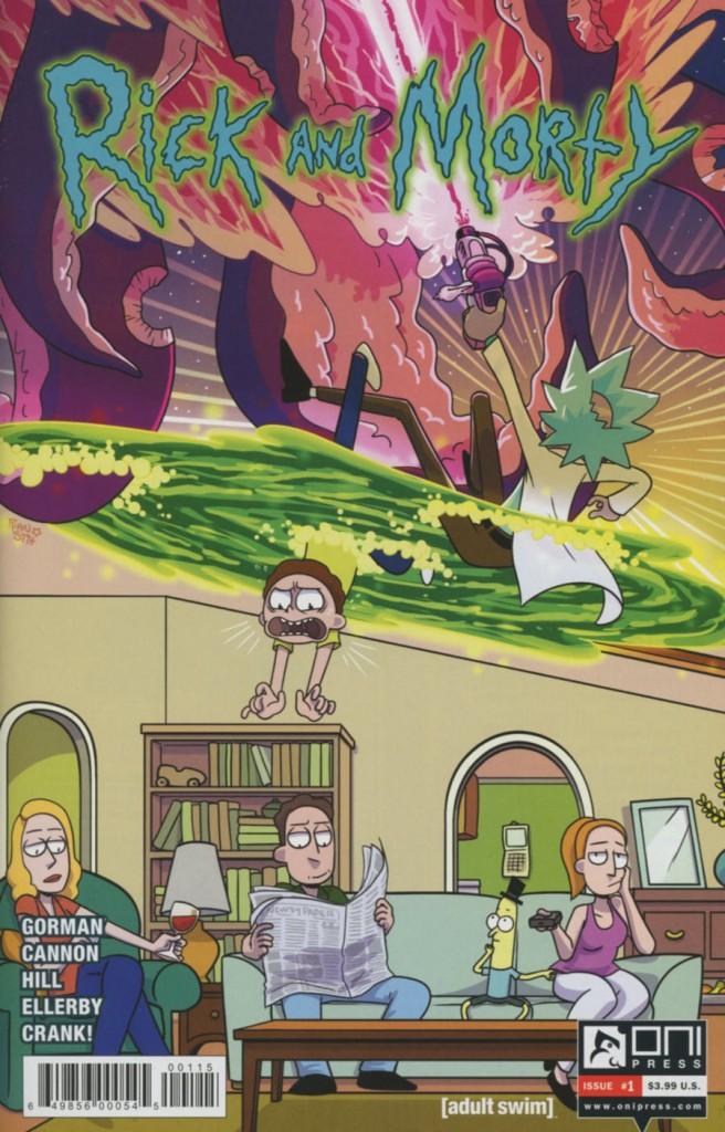 Rick and Morty #1 5th Printing