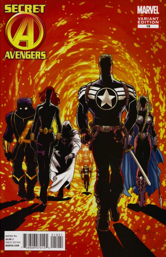 Secret Avengers #19 Larry Stroman Marvel 50th Anniversary