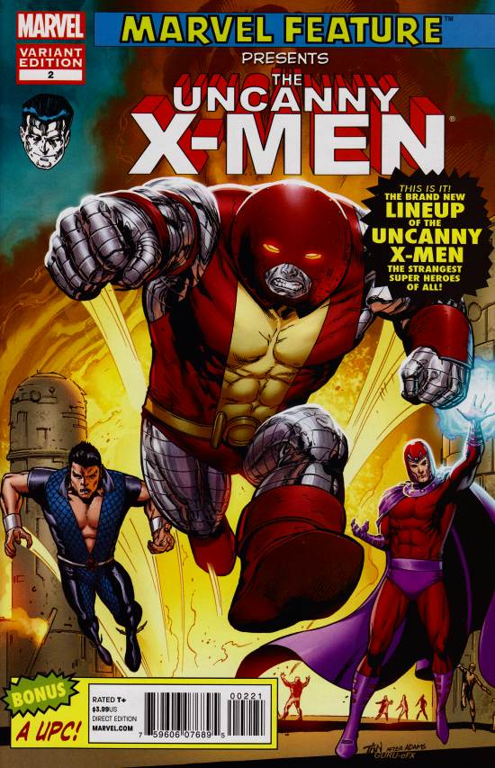 Uncanny X-Men #2 Marvel 50th Anniversary