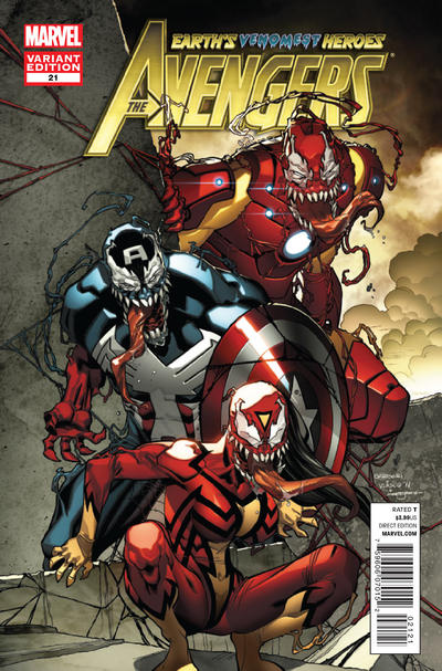 Avengers #21 Venom Variant