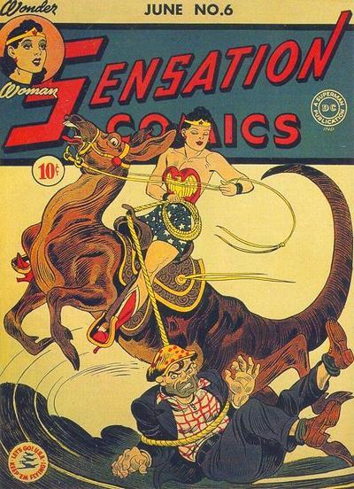 Sensation Comics #6