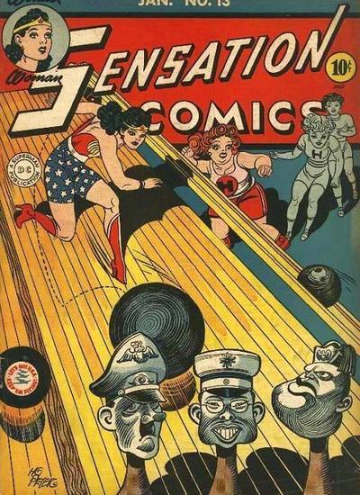 Sensation Comics #13