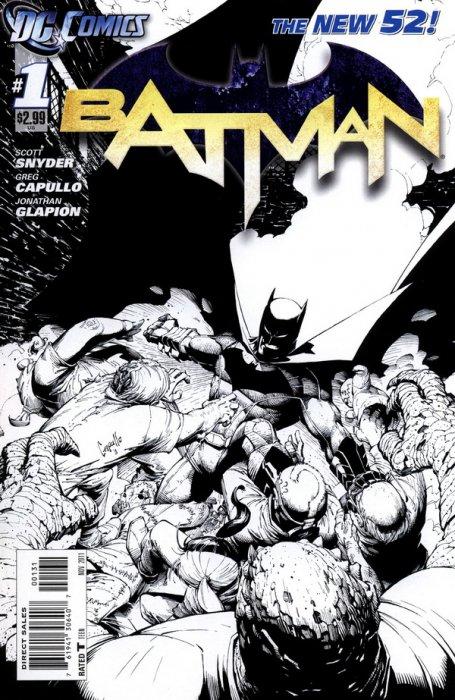 Batman 1 1-200 Sketch Variant