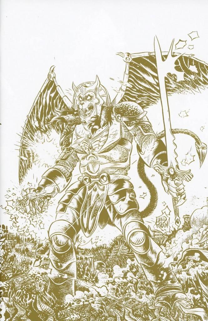 Mighty Morphin Power Rangers #2 David Rubin Variant