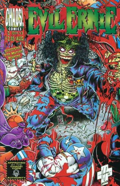 Evil Ernie vs The Superheroes #1