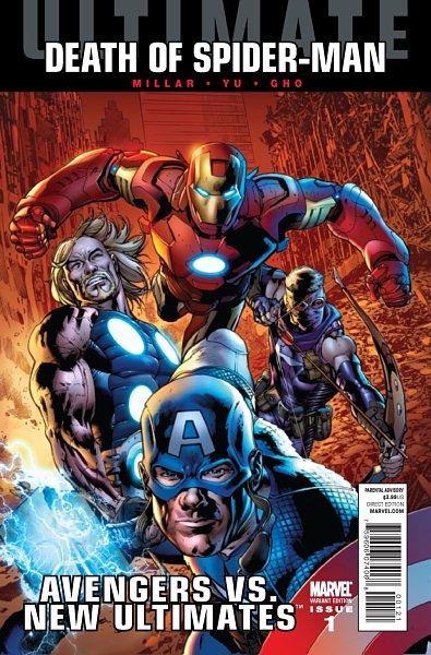 Avengers vs New Ultimates #1 Hitch Variant