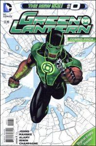 Green Lantern #0 Combo Pack