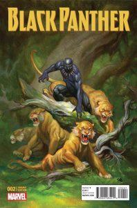 Black Panther #2 Frank Cho Variant