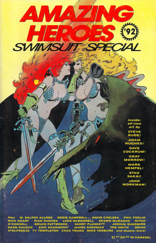 amazing-heroes-swimsuit-special-92-cover