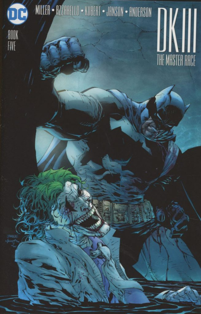 Dark Knight III: The Master Race #5 Jim Lee Variant