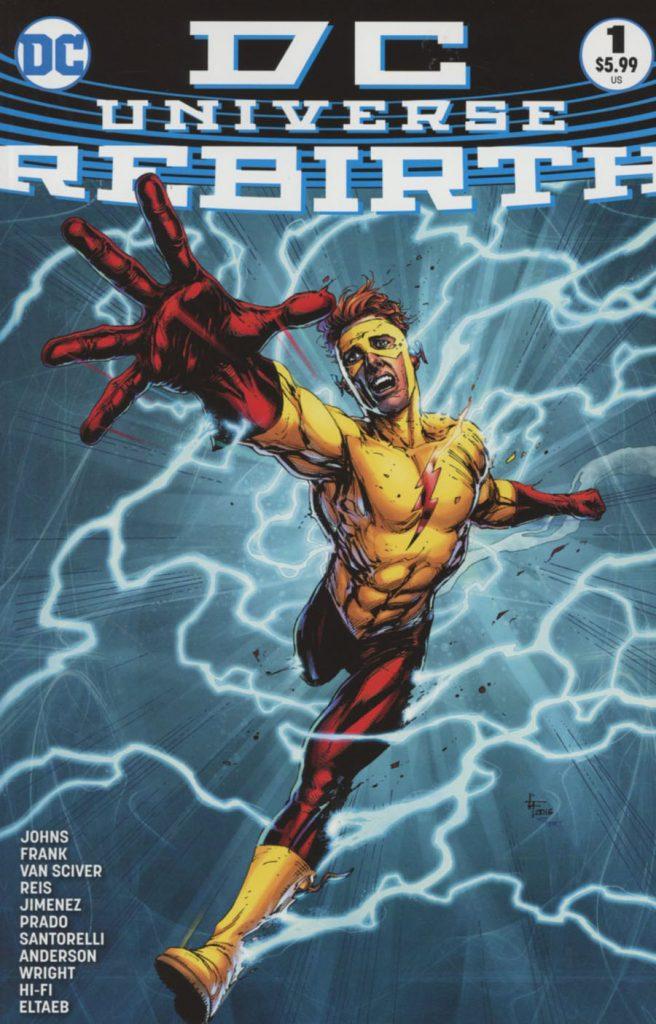 DC Universe Rebirth 3rd Printing