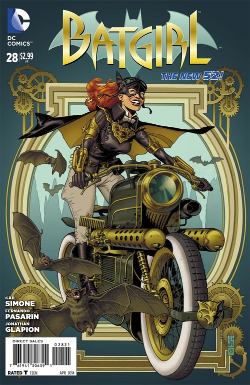 Batgirl #28 Steampunk Variant